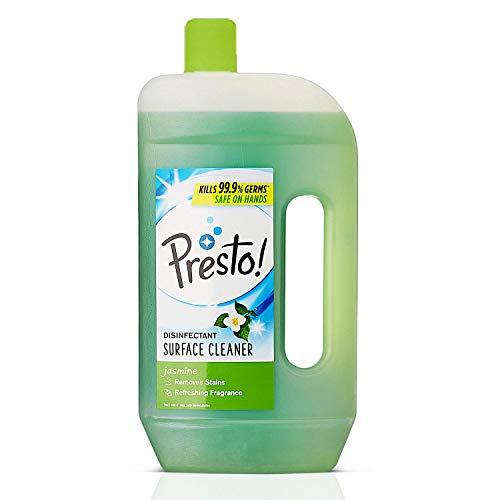 Amazon Brand – Presto! Disinfectant Surface/Floor Cleaner – 975 ml (Jasmine)