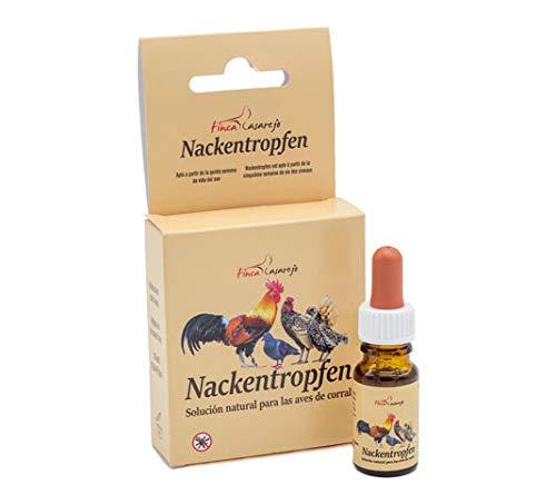 Sollfranks Nackentropfen- Repelente contra el Piojo y parásitos externos de Gallinas y Otros Animales - Desparasitante Natural Muy eficaz