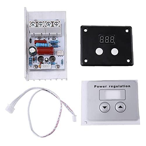 Bravosoleil Digital-spannungsreglermodul Scr Elektronische 10000w Speed ??control Dimmer Thermostat