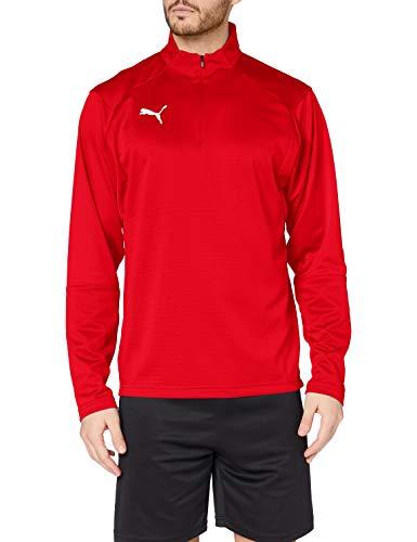 Puma Liga Training 1/4 Zip, Giacca Uomo, Rosso Red White, L