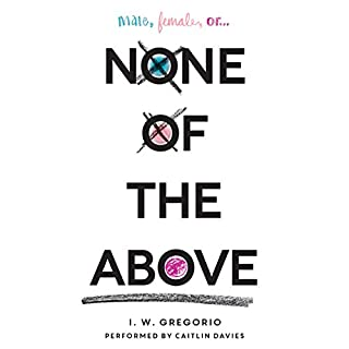 None of the Above audiobook cover art