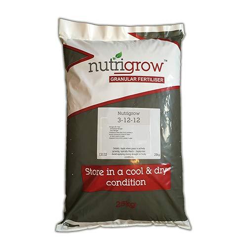 Nutrigrow Autumn Lawn Fertiliser (3-12-12) (25kg)
