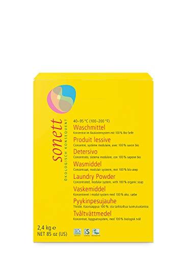 Waschmittel Pulver: 100% biologisch abbaubar