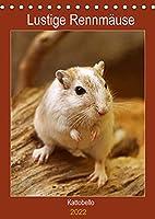 Lustige Rennmaeuse (Tischkalender 2022 DIN A5 hoch): Liebenswerte Heimtiere (Planer, 14 Seiten )