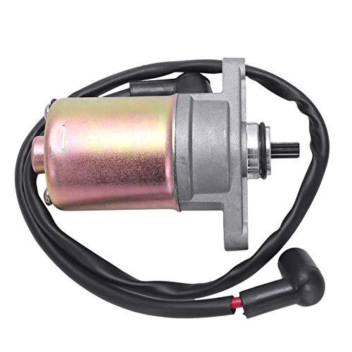 Wuyee 0.55Kg Motor de Arranque de la Motocicleta Arrancador eléctrico Gy6 50Cc...