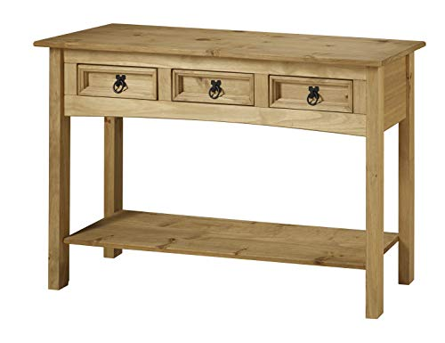 Mercers Furniture Tisch, Holz, Wachs antik, 122 x 32 x 73 cm