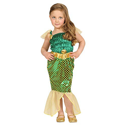 WIDMANN Sirene E Poseidone Disfraz Colgante en forma de niña