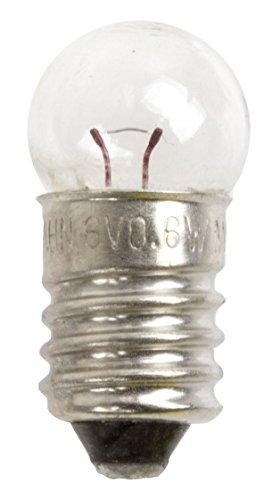 Unbekannt Birnchen Rücklicht 6v / 0.6w, Transparent, One Size, 05 6 02 001