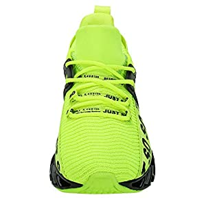 UMYOGO Sport Running Shoes for Women Mesh Breathable Trail Runners Fashion Sneakers Green