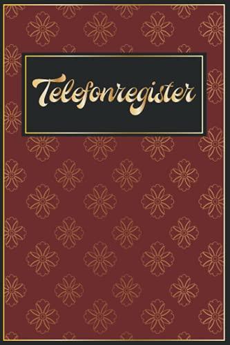 Geburtstagskalender Klein: Telefonbuch Senioren Telefon Und Adressbuch || Telefonverzeichnis Mit Register Klein A5 - Golden Rot für Mädchen || Große Schrift || Geschenk Für Frauen 70 Jahre