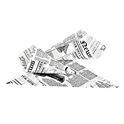 powerful Newspaper Oil-Resistant Paper Cone (1000 Pieces), PacknWood – Disposable Snack Cup…