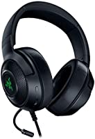 Razer Kraken X USB Gaming Headphones with Digital Surround Sound (7.1 Surround Sound, Flexible Cardioid Microphone,...