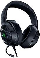 Razer Kraken X USB Gaming Headset, Cuffie Da Gioco Con Audio Surround Digitale 7.1, Microfono Cardiode Pieghevole,...