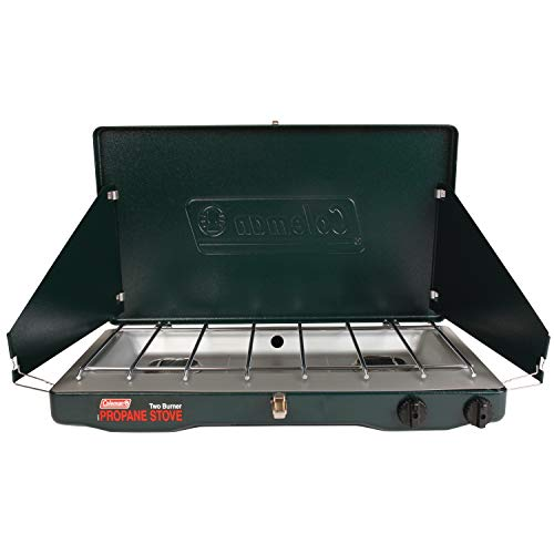 Coleman Gas Stove | Portable Propane Gas Classic Camp Stove with 2...
