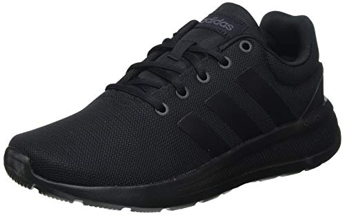 adidas Lite Racer CLN 2.0, Sneaker Hombre, Core Black/Core Black/Grey, 42 2/3 EU