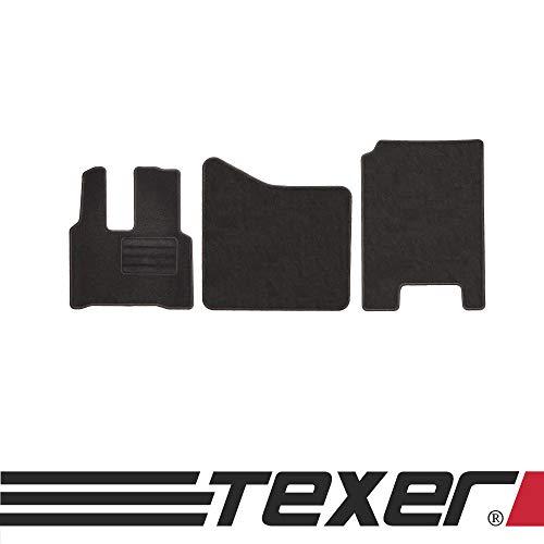 CARMAT TEXER Textil Fußmatten Passend für Mercedes-Benz Actros MP 4 Bj. 2011- Basic