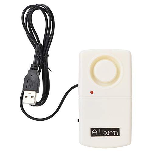 Alarma antirrobo para computadora portátil, computadora portátil PC portátil USB con alimentación por USB Material ABS Sistema de alarma antirrobo de tono alto Dispositivo antirrobo de seguridad inter