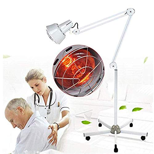 Buy Discount SCYTSD 275W Near Infrared Light Red Light Therapy Heat Lamp,Far Infrared Short-Wave Hea...