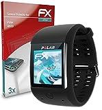 atFoliX Schutzfolie kompatibel mit Polar M600 Folie, ultraklare & Flexible FX Bildschirmschutzfolie (3X)
