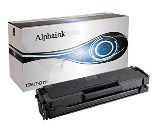 Toner Alphaink MLT-D111S/L per Xpress SL-M2020w, SL-M2022, SL-M2022W, SL-M2070, SL-M2070FW, SL-M2070W, 1.800 Copie