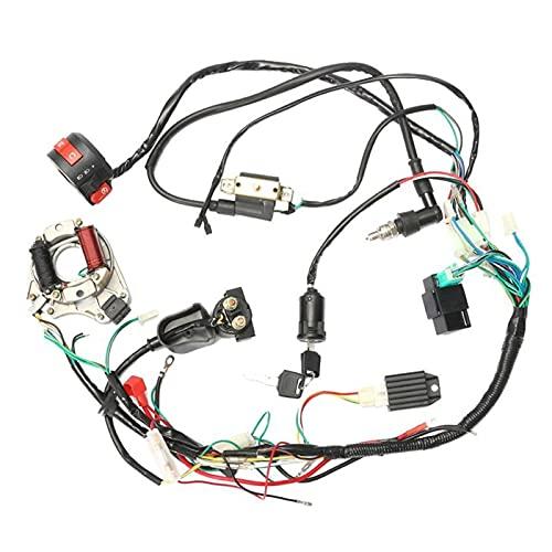 Yongyong MeiMei Store 50 70 90 90 110cc CDI HABISTO Montaje MONTAMIENTO Kit de cableado ATV Electric Start Quad CDI Arny ARNYS MONTAMIENTO CABLEADO Conjunto DE Interruptor DE Cambio
