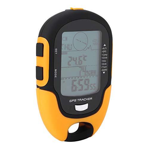 Vbest life Receptor de navegación GPS portátil de Mano USB de Mano Recargable Altímetro Digital Barómetro Altímetro Barómetro