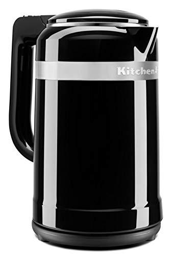 KitchenAid Design Wasserkocher 1,5 L | 5KEK1565EOB (Onyx Schwarz)