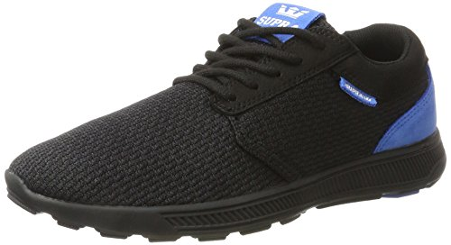 Supra Unisex Hammer Run Sneaker, Schwarz (Black-Royal), 42 EU