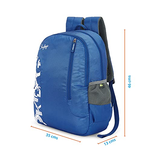 Skybags Brat Azure Blue 46 Cms Casual Backpack