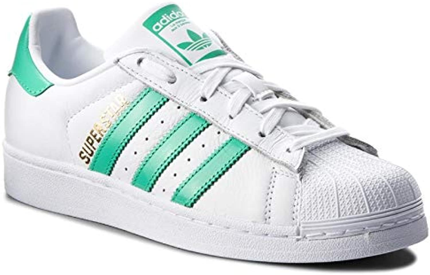 Adidas Originals Men& 39;s Superstar Fashion Sneakers B41995,Size 8