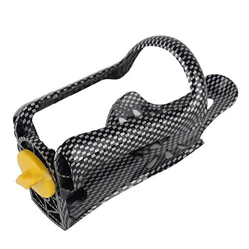 Botella de Agua portátil de la Jaula del Estante de Bicicletas Accesorios de Carbono Ajustable de Fibra Texturizada Hervidor Rack