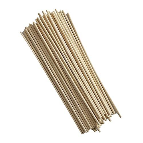 Natürliche Bambuspfähle 20cm, Umweltfreundliche Gartenpfähle Pflanzenpfähle Unterstützung Klettertomaten, Bäume Bohnen
