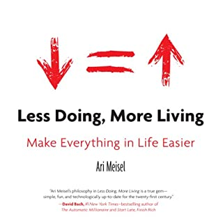 Less Doing, More Living cover art