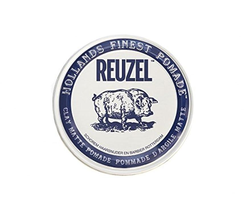 カウボーイそれ電気的ルーゾー REUZEL CLAY MATTE クレイマット ポマード ホワイト 35g