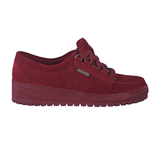 Mephisto Zapatos bajos para mujer., color Rojo, talla 38 EU