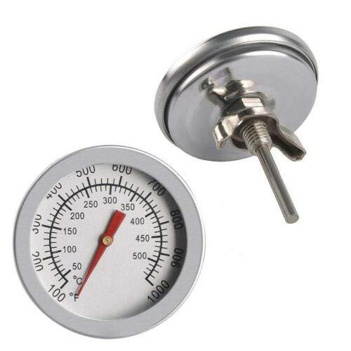 VSTON Termómetro profesional de acero inoxidable de 50 a 500 °C para...