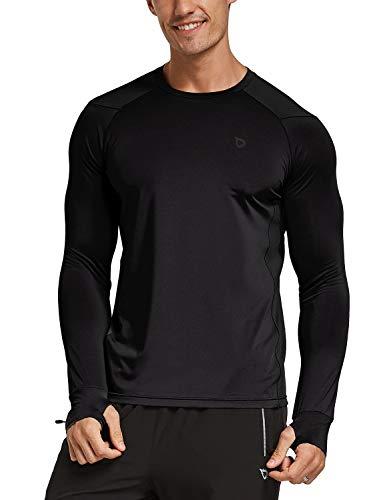 BALEAF Men's Athletic Long Sleeve Outdoor Shirts Thumbholes UV Sun...