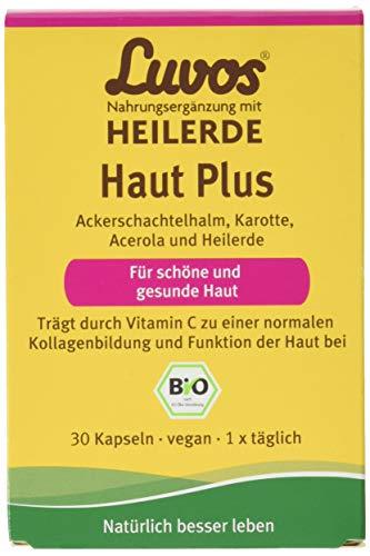 LUVOS Haut Plus, Bio-Nahrungsergänzung, 30 Kapseln