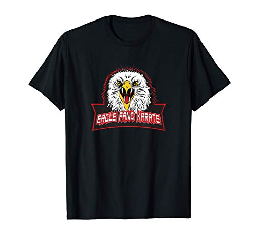 Cobra Kai Eagle Fang Karate Logo T-Shirt