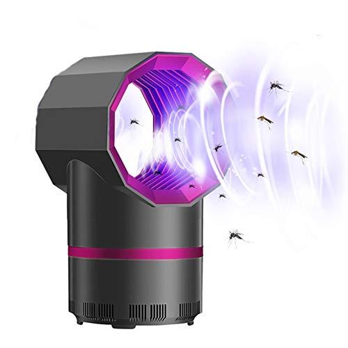Xiaodianer - Lámpara LED antimosquitos para matar insectos eléctrico, sin ruido, sin radiación, trampa de insectos y frutas, alimentada por USB