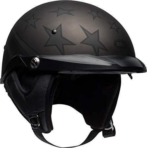 Bell Pit Boss Open-Face Motorcycle Helmet (Honor Matte Titanium/Black, Large)