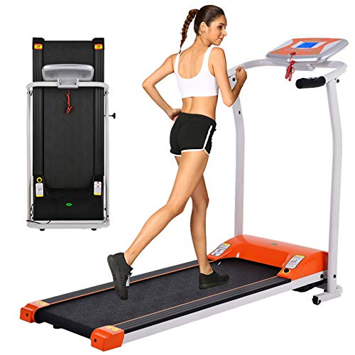 OppsDecor Folding Electric Treadmill for Home Running Machine Fitness Exercise Machine Power...