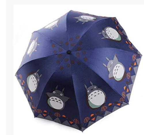 JxLinAAHH Anime My Neighbor Totoro Regenschirm für den täglichen Gebrauch, faltbar, Cosplay-Kollektion, A