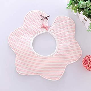 Baby feeding supplies Bibs Cotton Flower Waterproof Cloth Bibs Pacifier Baby Bibs for Boys and Girls Suitable for infants and toddlers