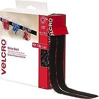 """VELCRO(R) ブランド BACK(R) 粘着テープ 3/4""""X 15'-ブラック"""