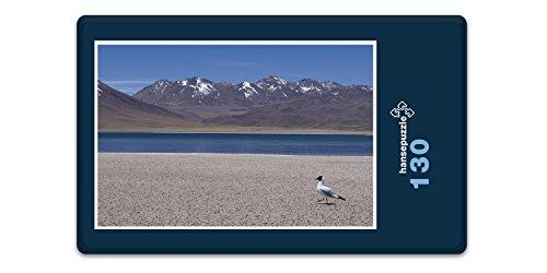 hansepuzzle 17470 Reisen - Chile, 130 Teile in hochwertiger Kartonbox, Puzzle-Teile in wiederverschliessbarem Beutel.