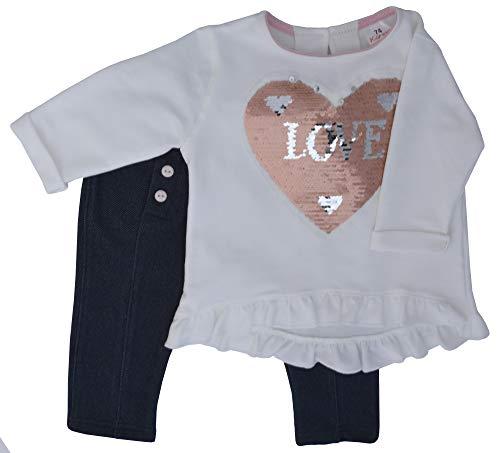 Karen babykleding jongens meisjes unisex kledingset 2-delig: shirt met lange mouwen en joggingbroek set
