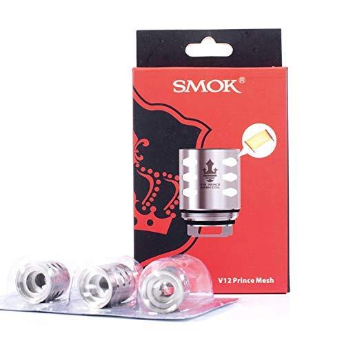 (V12 Prine Mesh) Verdampferköpfe Authentic Smok TFV12 Prince Mesh Coil 0.15 ohm für Verdampfer E zigarette TFV12 Prince/Resa Prince Kein Nikotin
