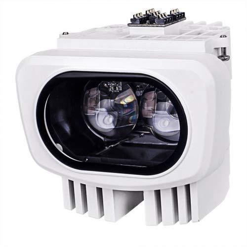 Vivotek AI-106 - Foco infrarrojo (850 nm, ángulo de 10 a 40 grados, 40 a 100 m, 6 W)