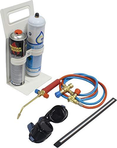 4. Autógena Portátil para Soldadura con regulador de gas y oxigeno